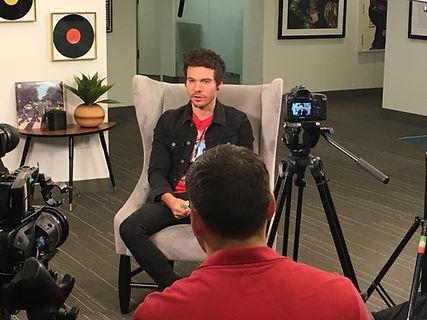Interviewing singer Matthew Koma