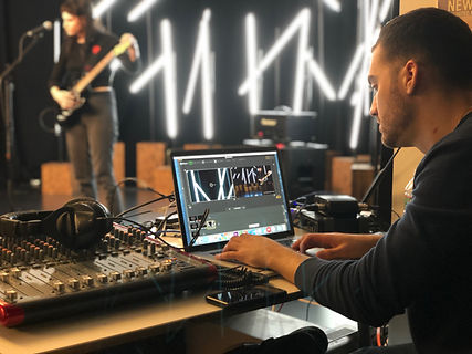 Live Streaming a Musical Performance