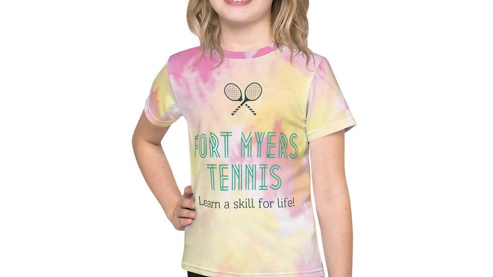 Kids Dri Fit Tie Dye Original Logo T-Shirt