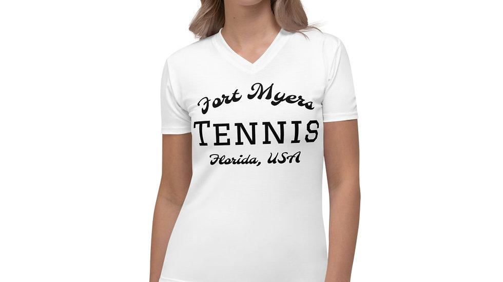 Women's Dri Fit Fort Myers Tennis Florida T