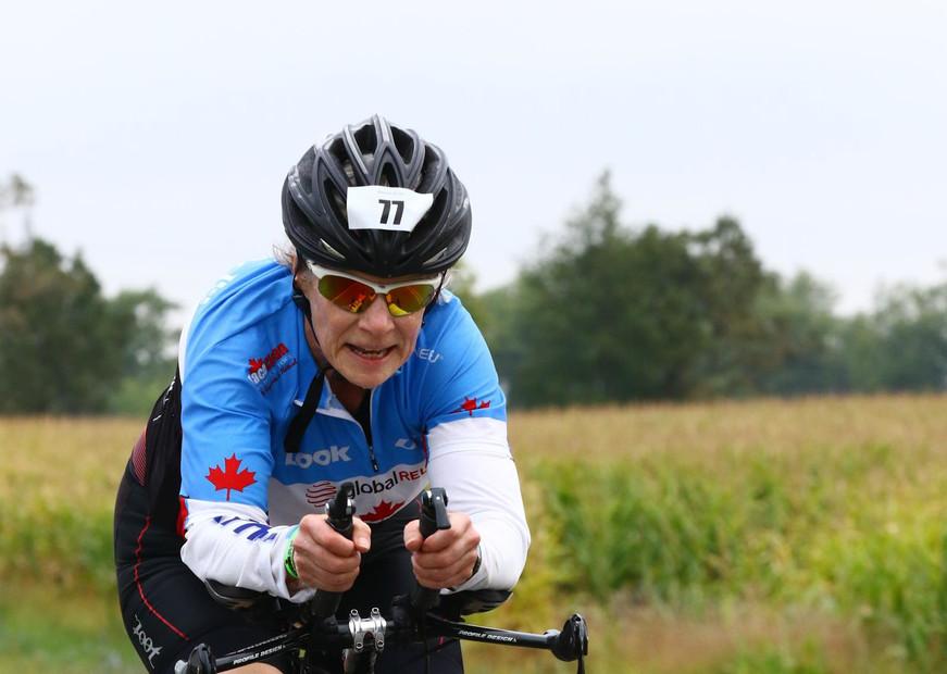 Elizabeth Model - Ironman Bike
