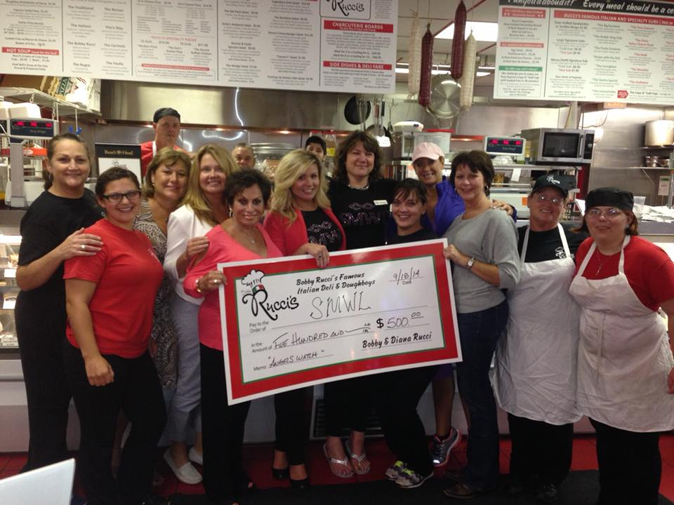 Rucci donates proceeds to community