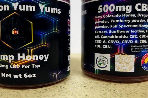 Dragon Yum Yums CBD Honey