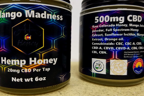 Mango Madness CBD Honey
