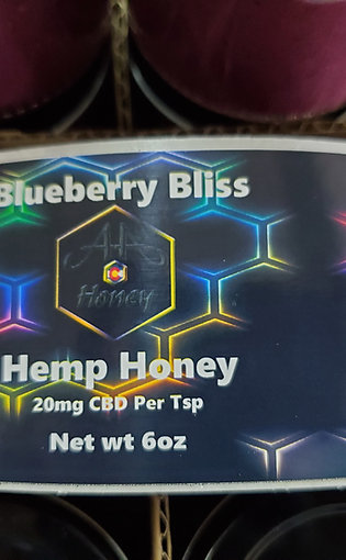 Blueberry Bliss CBD Honey