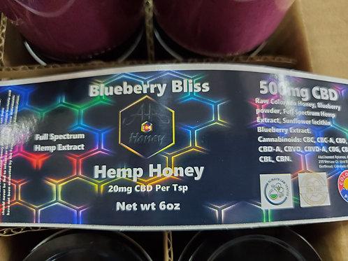 Blueberry Bliss CBD Honey 500mg