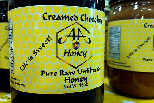 Creamed Chocolate Honey