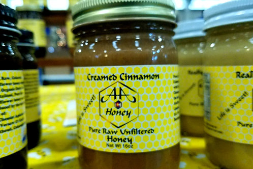 Creamed Cinnamon Honey