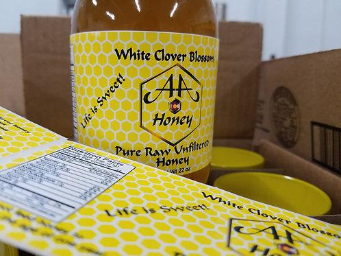 White Clover Blossom Pint