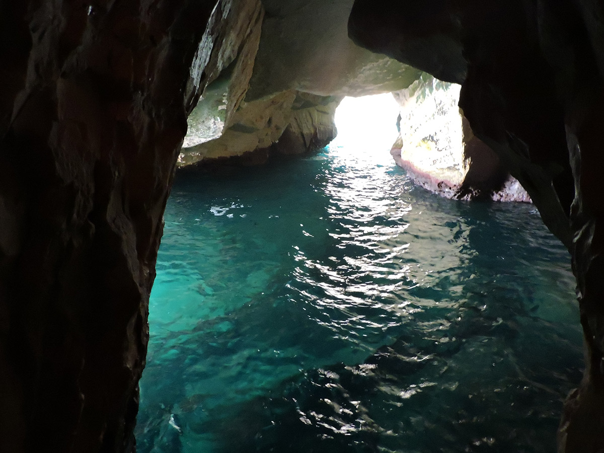 Rosh Haniqra Sea grottos