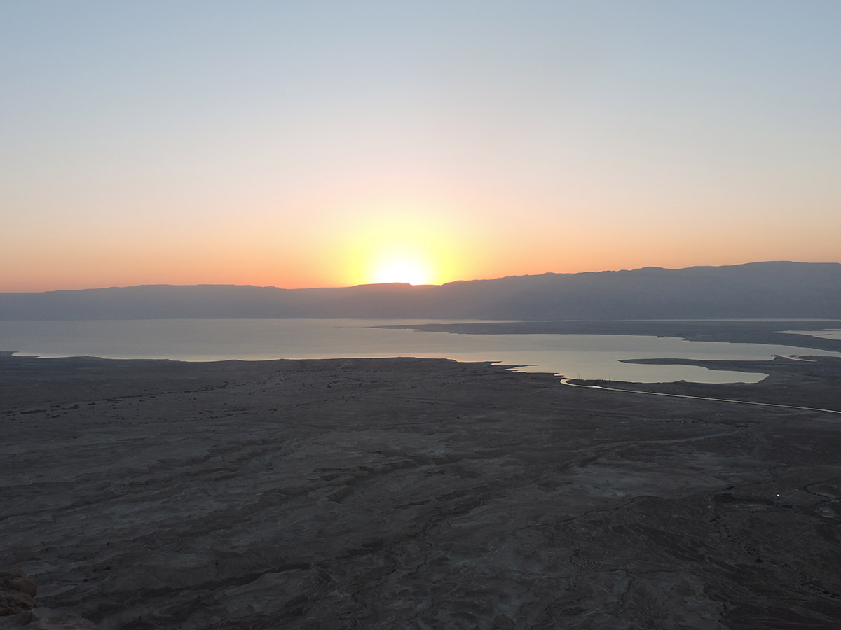 Sunrise at Massada