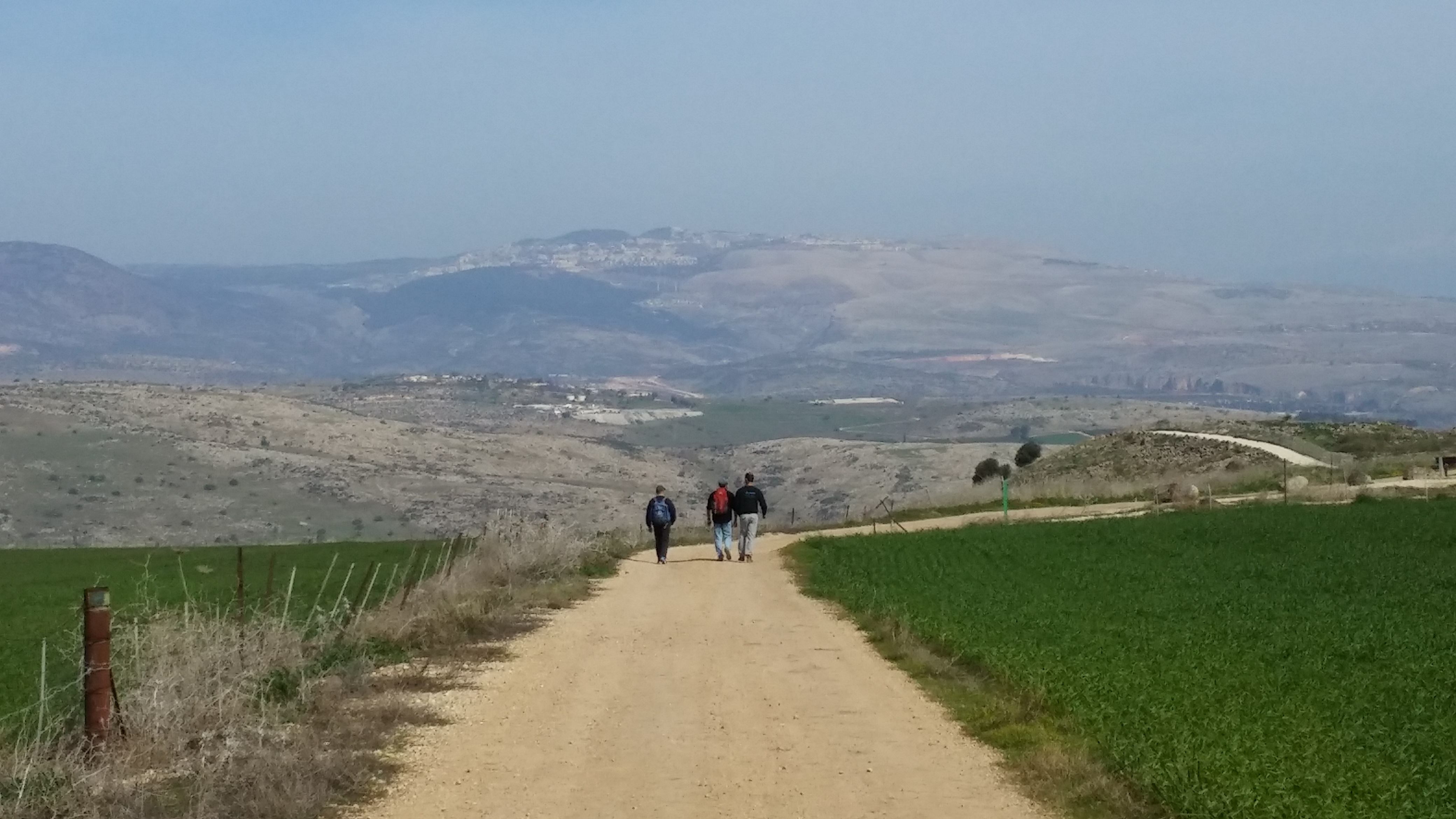 Galilee walk