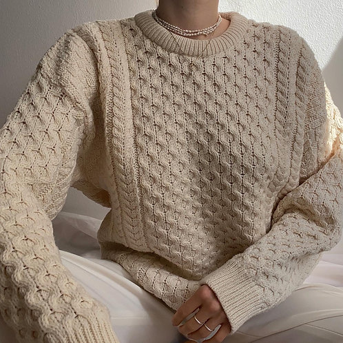 100% Merino Wool Knit Pullover