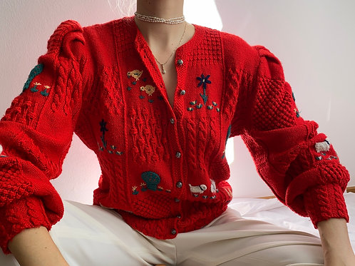 AdorableHandmade Knit Jacket