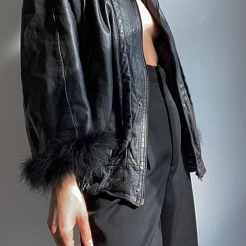 Unique Vintage Leather Jacket
