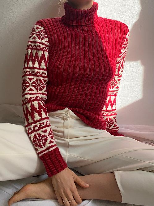 Handmade Knit Pullover