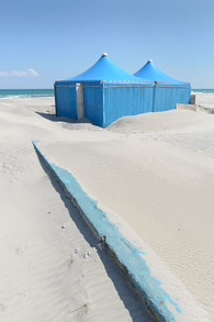 Blue Tents