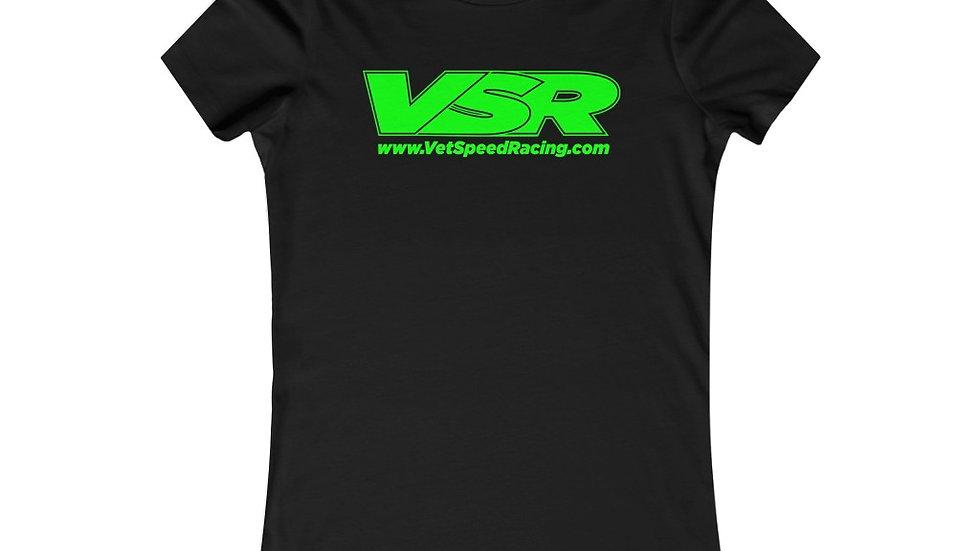 Vet Speed Racing Black Women's Favorite Tee