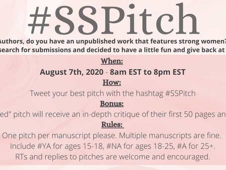 #SSPitch: Genre Fiction We'd Love To See