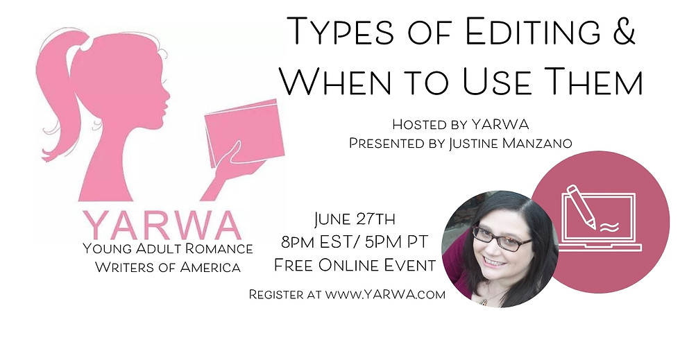 Online Class: Types of Editing & When to Use Them