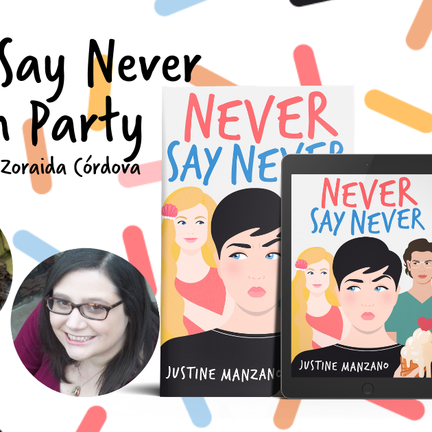 Never Say Never Book Launch
