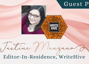 Writer Wednesday: Guest Post - Justine Manzano