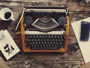 Writer Wednesdays: Writer's Toolbox Series Week 1