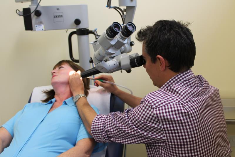 Ear microsuction central city medical centre