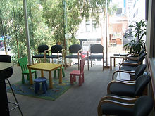 Waiting room central city medical centre perth GP perth doctor