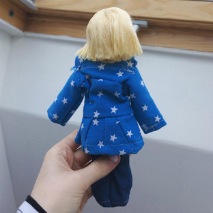 Star Jacket and Jeans
