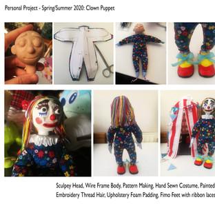 Clown Puppet Progress