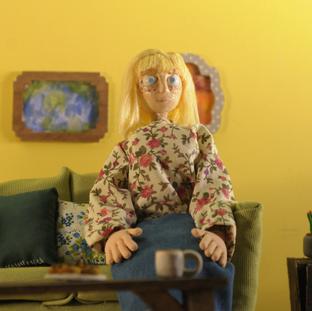 Terry's Aunt - Puppet, Props, Set