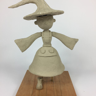 Fern Garden Witch Sculpt