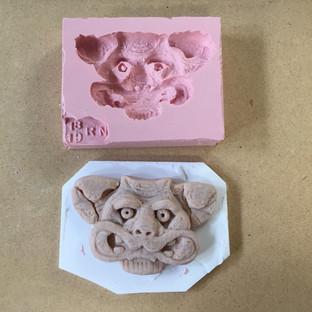 Gargoyle Mold and Sculpt