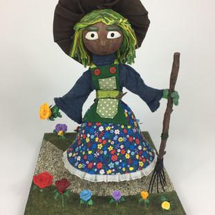 Fern - Garden Witch Puppet