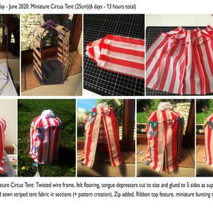 Circus Tent Progress