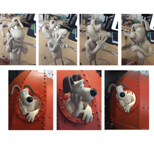 """A Grand Day Out"" Gromit Sculpt"