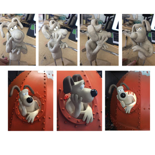 """""""A Grand Day Out"""" Gromit Sculpt"""