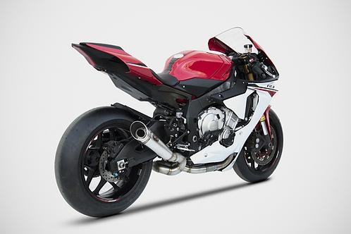 Zard Exhaust - Yamaha R1 - Silencer + De-cat Kit