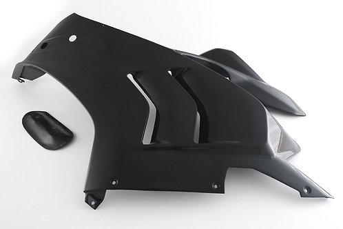 FullSix Carbon Fairing Side Upper Left - Ducati V4
