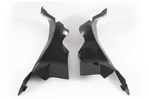 FullSix Carbon Airtube Covers - Ducati Panigale