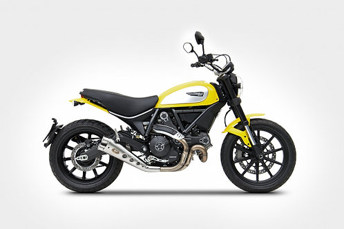 Zard - Ducati Scrambler 800 - Low Mounted Silencer Special Ed