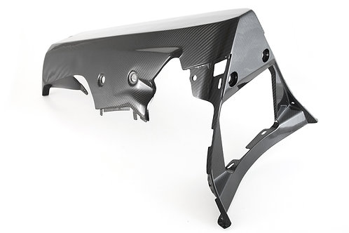 FullSix Carbon Belly Pan (OEM or Slip On, No Hole/CAT) - Yamaha R1