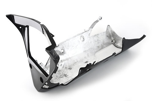 FullSix Carbon Belly Pan (OEM or Slip On) - Yamaha R1