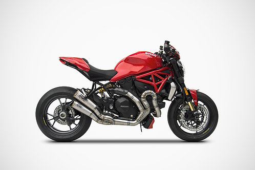 Zard Exhaust - Ducati Monster 1200 - 60mm Full Kit