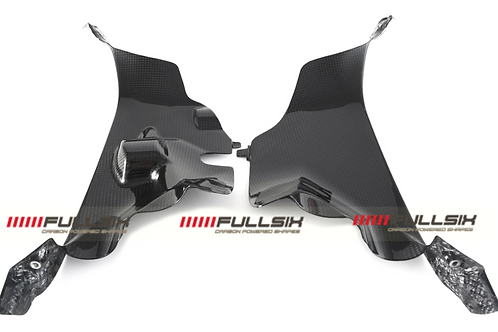 FullSix Carbon Airtube Covers - Ducati V4