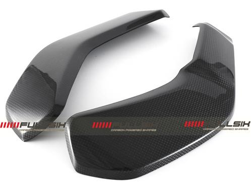 FullSix Carbon Radiator Cover Set - Ducati X Diavel