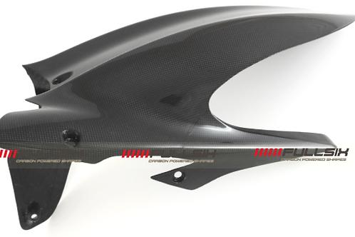 FullSix Carbon Rear Mud Guard- Ducati Diavel