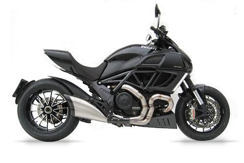 Zard Exhaust - Ducati Diavel - Titanium Silencer