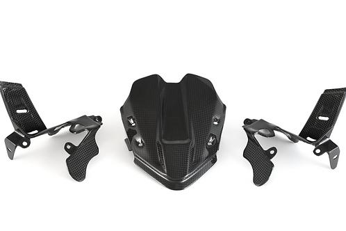 FullSix Carbon Instrument Cover - Ducati V4